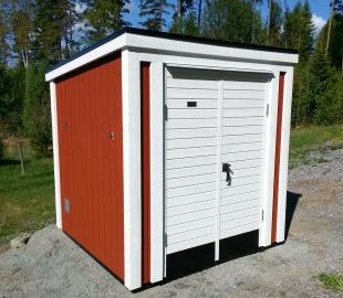 Klassiskt garage för El-rulle