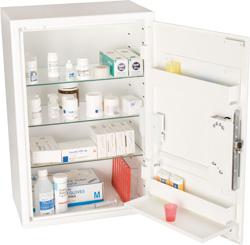 Kraftigt medicinskåp för EL582